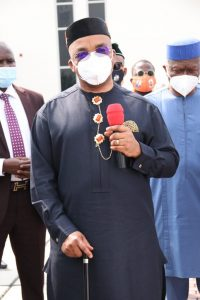 Our Fight Against Covid-19 Is Total…Governor Emmanuel