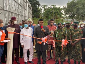 Gov. Emmanuel commissions 168 Houses in Army Barracks to celebrate Nigeria at 60