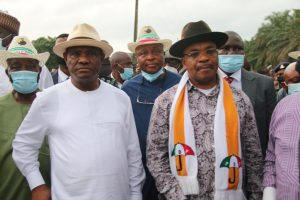 Gov Wike Commissions new roads, flag – off New Petro-Chemicals Factory, Hospital in Akwa Ibom